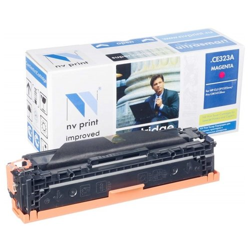 Фото - Картридж NV Print CE323A для HP, совместимый картридж nv print cf400a для hp совместимый
