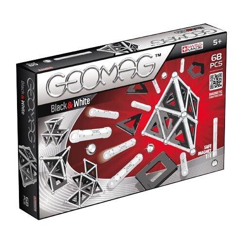Купить Магнитный конструктор GEOMAG Black and White 012-68, Конструкторы