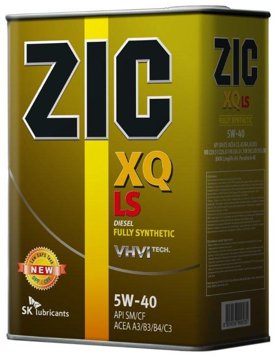 ZIC XQ LS 5W-40 4 л