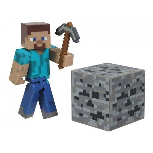 Купить Игровой набор Jazwares Minecraft Стив 16501, Игровые наборы и фигурки