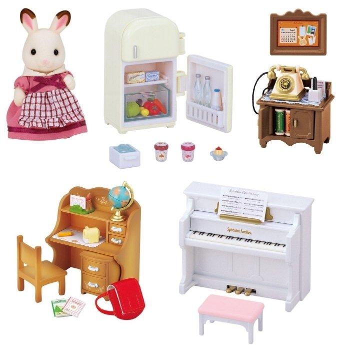 Игровой набор Sylvanian Families Мебель для дома Марии 5220 фото 1
