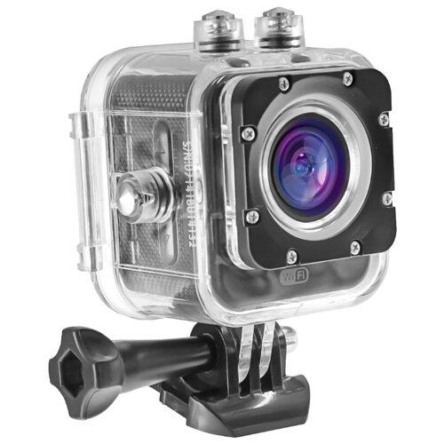 Экшн-камера Ginzzu FX-130GL черный
