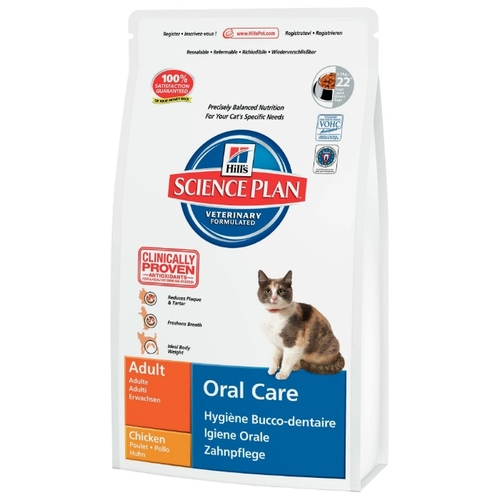 Корм для кошек Hill's (1.5 кг) Science Plan Feline Adult Oral Care Chicken