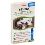 SENTRY Natural Defense капли от блох и клещей для собак до 7 кг