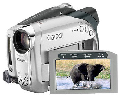 Сравнение с Canon DC19