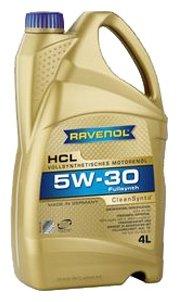 Моторное масло Ravenol HCL SAE 5W-30 4 л