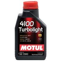 Моторное масло Motul 4100 Turbolight 10w40 1л