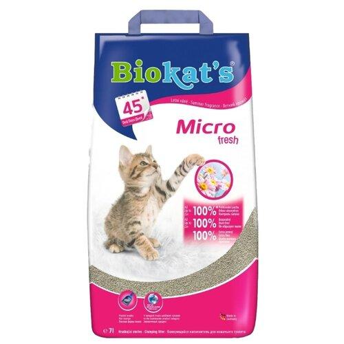 Комкующийся наполнитель Biokat's Micro Fresh 7 л