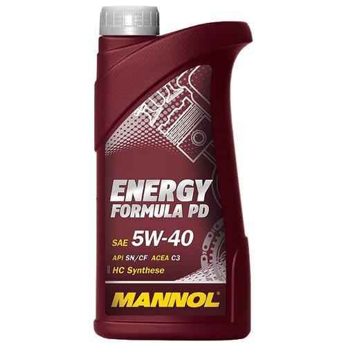 Моторное масло Mannol Energy Formula PD 5W-40 1 л моторное масло mannol energy formula pd 5w 40 1 л