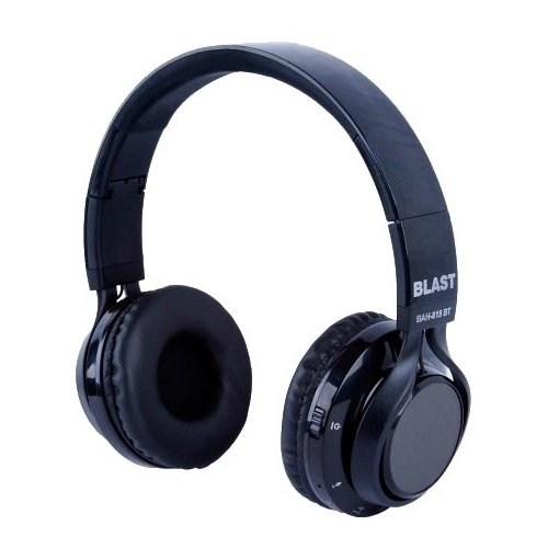 Беспроводные наушники BLAST BAH-815BT black беспроводные наушники blast bah 817bt black
