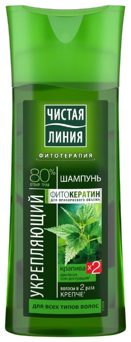 Чистая линия шампунь Укрепляющий Крапива — более 48 предложений — купить по выгодной цене на Яндекс.Маркете