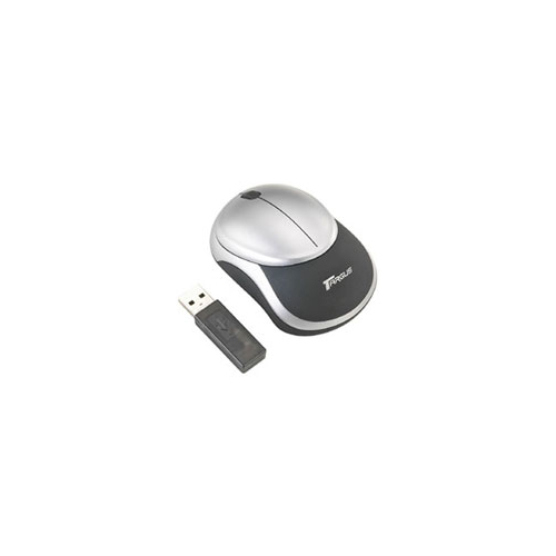 Мышь Targus Rechargeable Stow-N-Go Wireless Optical Mouse Silver-Black USB