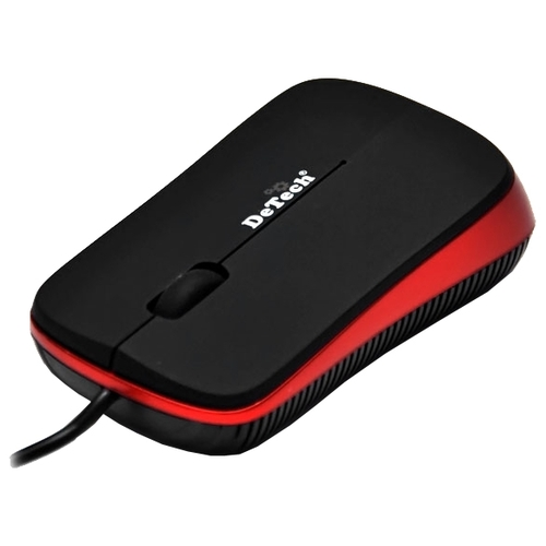 Мышь DeTech DE-5099G 3D Mouse Black-Red USB
