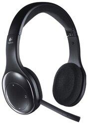 Компьютерная гарнитура Logitech Wireless Headset H800 черный - фото 1
