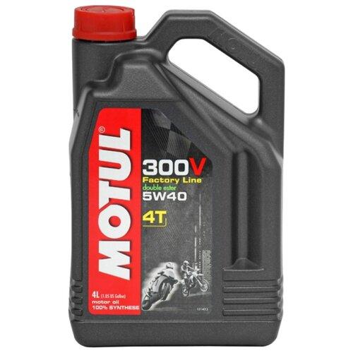 Моторное масло Motul 300V Factory Line Road Racing 5W40 4 л