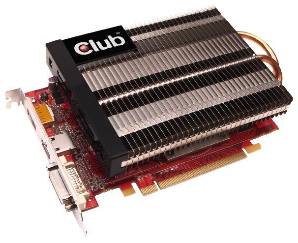 Видеокарта Club-3D Radeon HD 7750 800Mhz PCI-E 3.0 1024Mb 4500Mhz 128 bit DVI HDMI HDCP Silentt