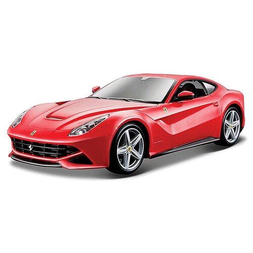 Купить Легковой автомобиль Bburago Ferrari F12 Berlinetta (18-26007) 1:24 красный, Машинки и техника
