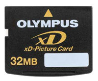 Карта памяти Olympus xD-Picture Card M-XD32P