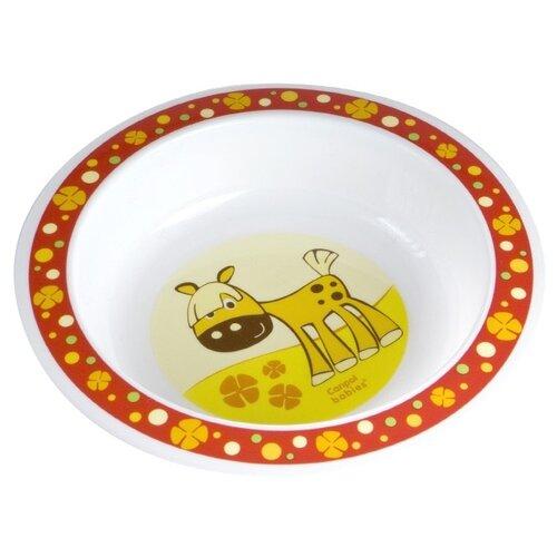 Купить Тарелка Canpol Babies глубокая (4/412) красный, Посуда