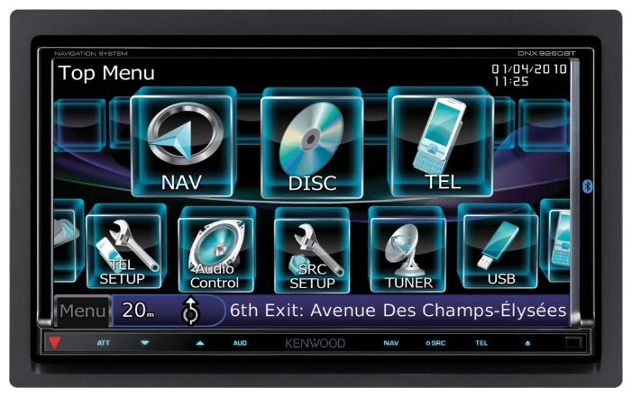 Автомагнитола KENWOOD DNX9260BT