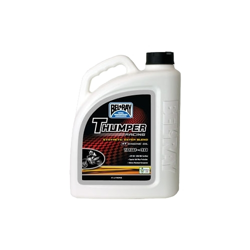 Моторное масло Bel-Ray Thumper Racing Synthetic Ester Blend 4T 10W-40 4 л Моторные масла