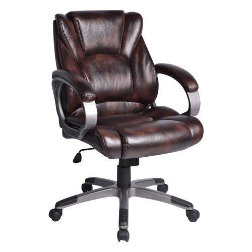 Компьютерное кресло Brabix Eldorado EX-504 для руководителя, обивка: искусственная кожа, цвет: коричневый