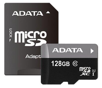ADATA Premier microSDXC Class 10 UHS-I U1 + SD adapter