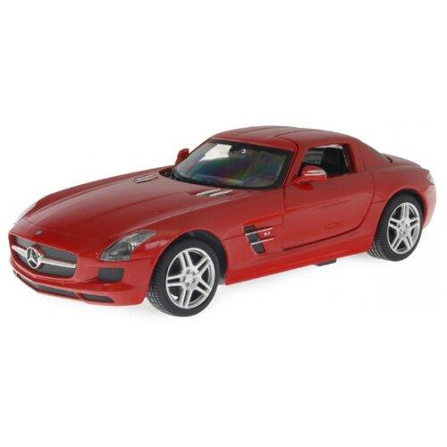 Купить Легковой автомобиль Rastar Mercedes-Benz SLS AMG (40100) 1:24 19 см красный, Радиоуправляемые игрушки