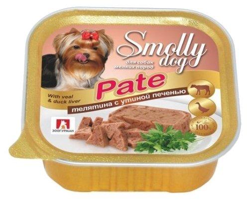 Корм для собак Зоогурман Smolly Dog телятина, утка, печень 100г (для мелких пород)