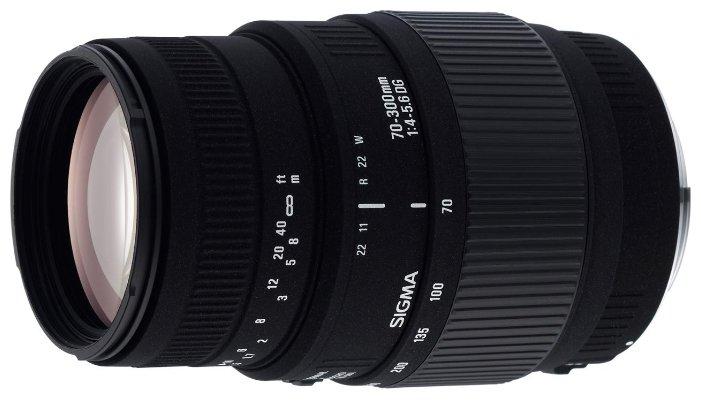 Sigma Объектив Sigma AF 70-300mm f/4-5.6 DG MACRO Canon EF