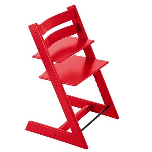 Купить Растущий стульчик Stokke Tripp Trapp из бука, красный, Стульчики для кормления