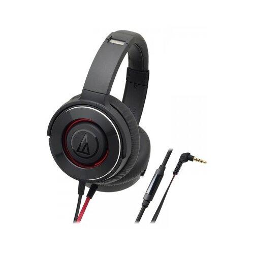 Наушники Audio-Technica ATH-WS550iS black/redНаушники и Bluetooth-гарнитуры<br>