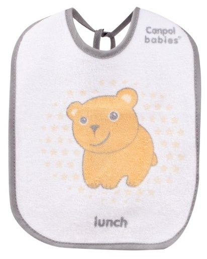 Canpol Babies Набор нагрудников Cotton terry bibs 3 pcs