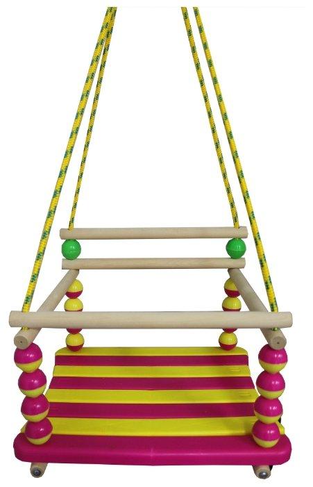 Механика Детские подвесные качели Стандарт мини (с шариками)