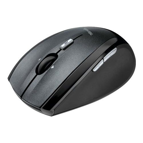 Мышь Trust Wireless Laser Mini Mouse MI-7600Rp Black USB