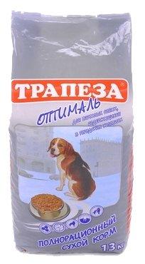 Корм для собак Трапеза (13 кг) Оптималь для взрослых собак, склонных к полноте