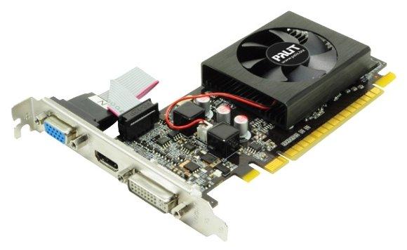 Palit GeForce 210 589Mhz PCI-E 2.0 1024Mb 1000Mhz 64 bit DVI HDMI HDCP Black Cool