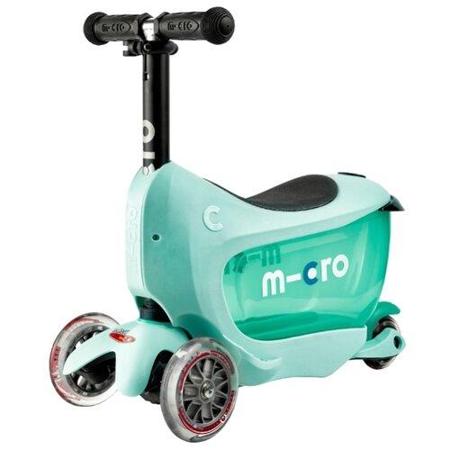 Кикборд Micro Mini2go Deluxe Plus mint