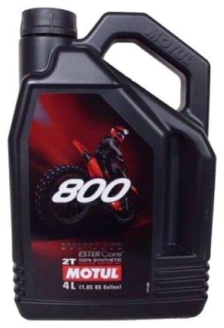 Моторное масло Motul 800 2T Factory Line Off Road 4 л