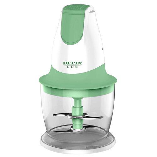 Измельчитель DELTA LUX DL-7417 зеленый/белый