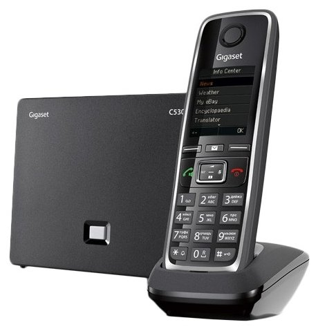 Gigaset VoIP-телефон Gigaset C530A IP