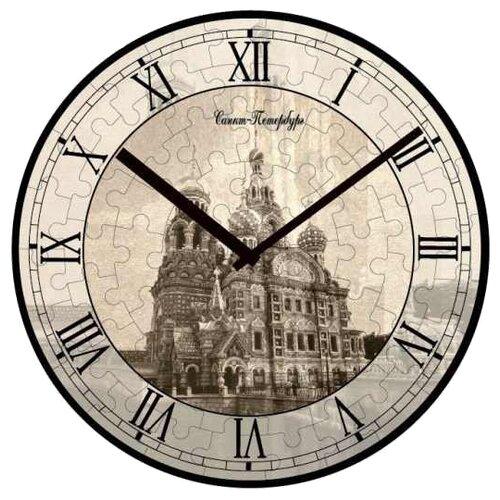Купить Часы-пазл Умная Бумага Часы Спас на Крови (126-19), 61 дет., Пазлы