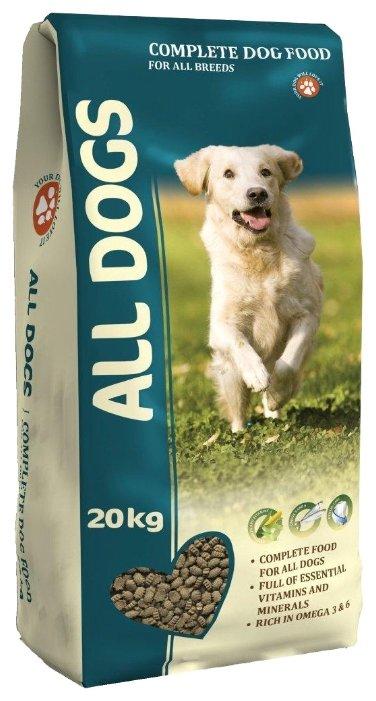 Корм для собак ALL DOGS Сухой полнорационный