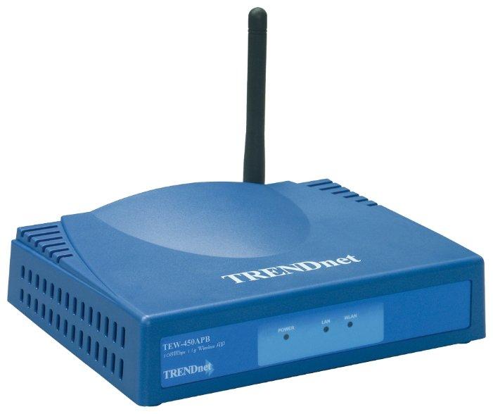 Wi-Fi роутер TRENDnet TEW-450APB