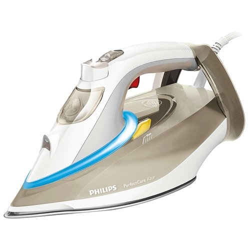 Утюг Philips GC4926/00 PerfectCare Azur коричневый/белый/голубой утюг philips gc4535 20 azur голубой