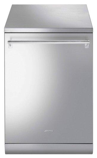Отдельностоящая посудомоечная машина LSA13X2, нержавеющая сталь, Smeg