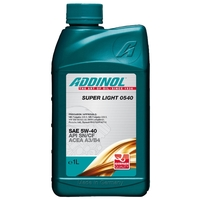 Моторное масло ADDINOL Super Light 0540 SAE 5W-40 1 л