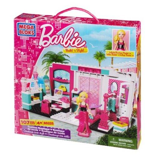 Конструктор Mega Bloks Barbie 80225 Модный бутик конструктор строй и учись mega bloks dxh33