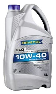 Моторное масло Ravenol DLO SAE 10W-40 5 л