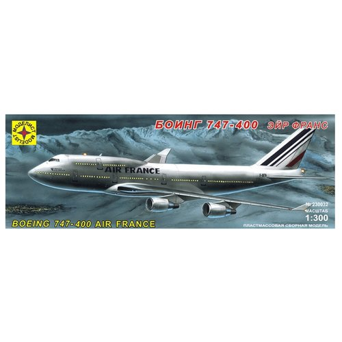 Купить Сборная модель Моделист Самолет Боинг 747-400 Эйр Франс (230032) 1:300, Сборные модели